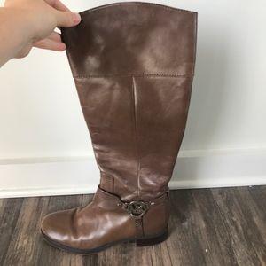 Michael Kors Brown Riding Boot